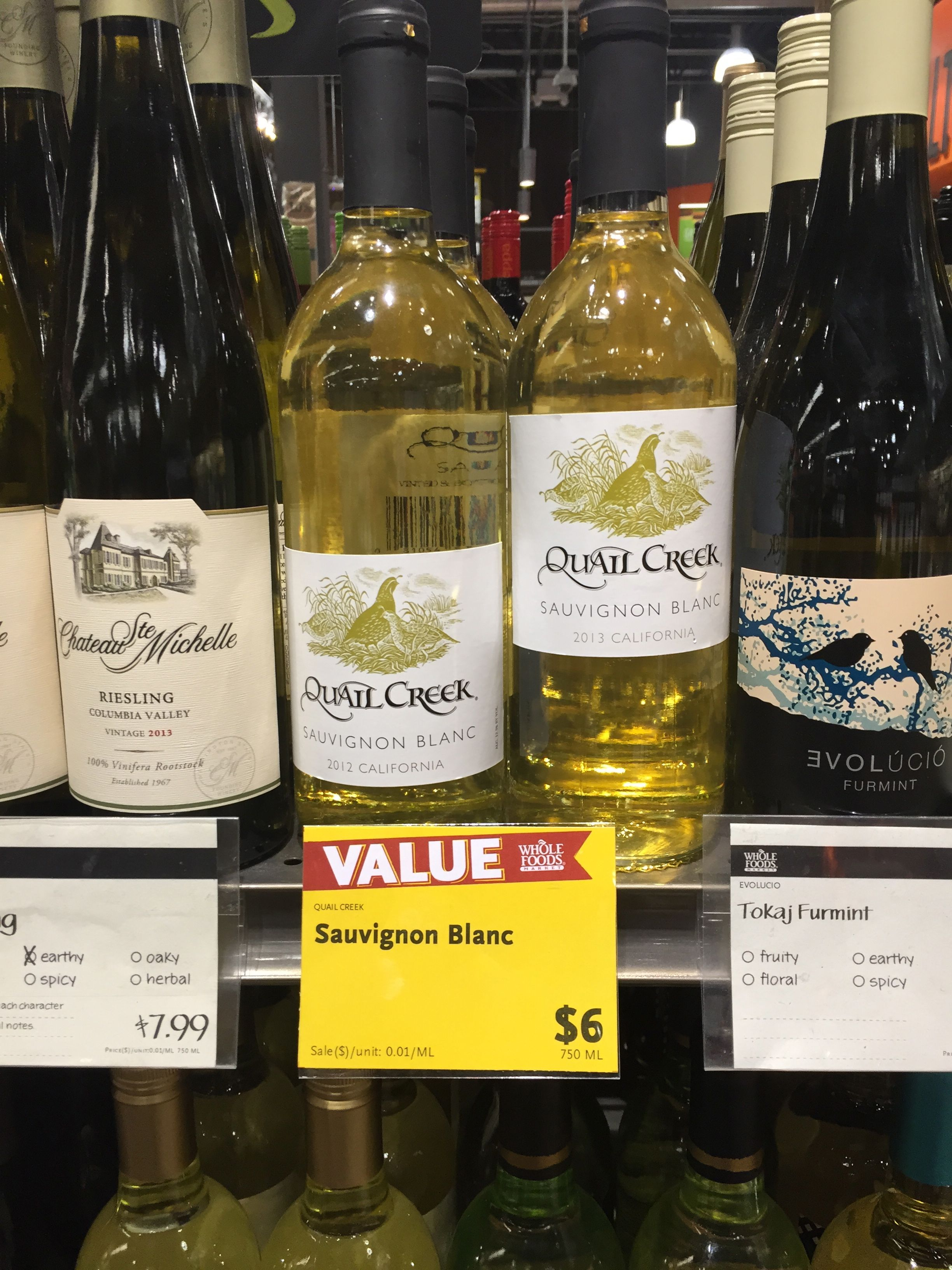 Whole Foods Wines Under