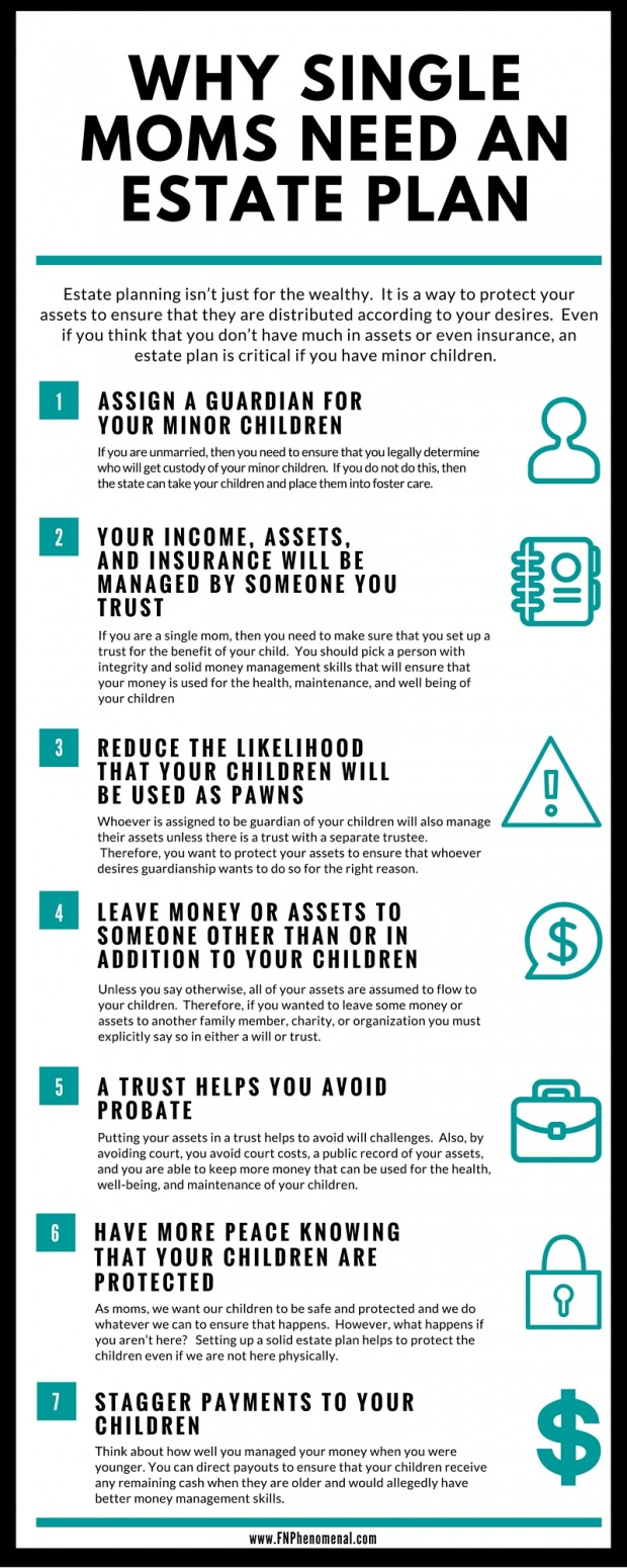 7 critical reasons why single moms need an estate plan or trust