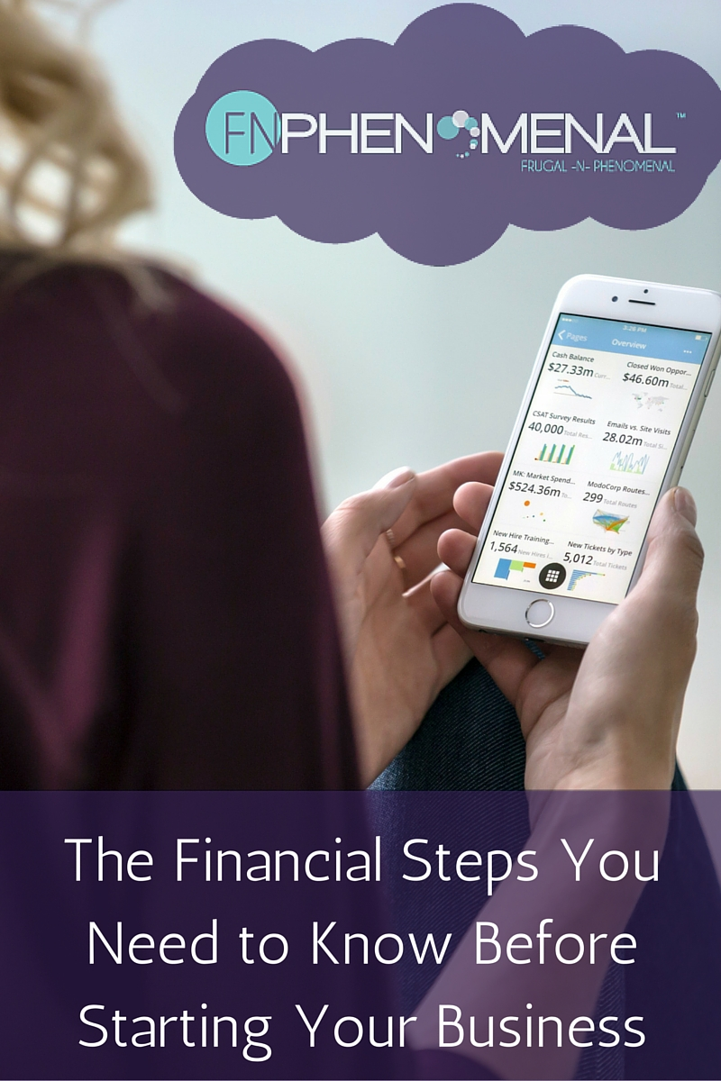 The critical things that you need to do with your personal finances if you want to start a business