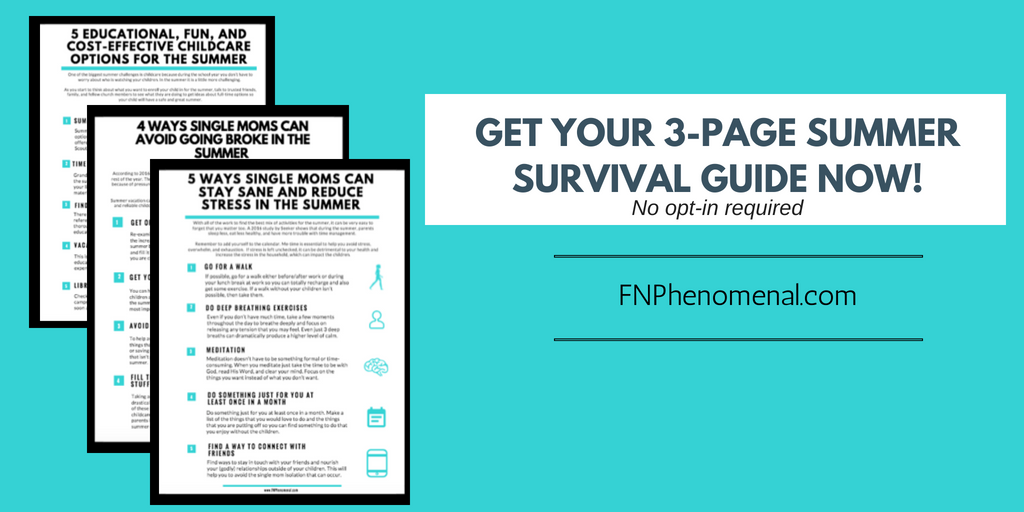 3-PAGE FNPHENOMENAL SUMMER SURVIVAL GUIDE opt in image