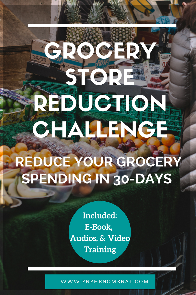 Grocery Reduction Challenge