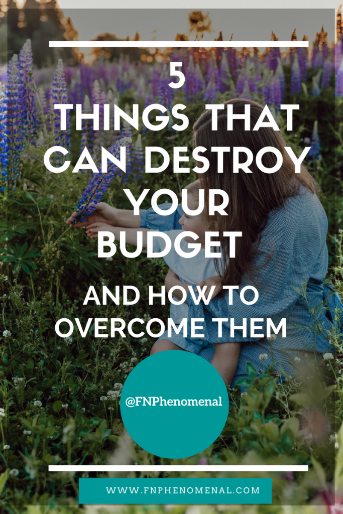 5 Things That Can Destroy Your Budget And How To Overcome Them