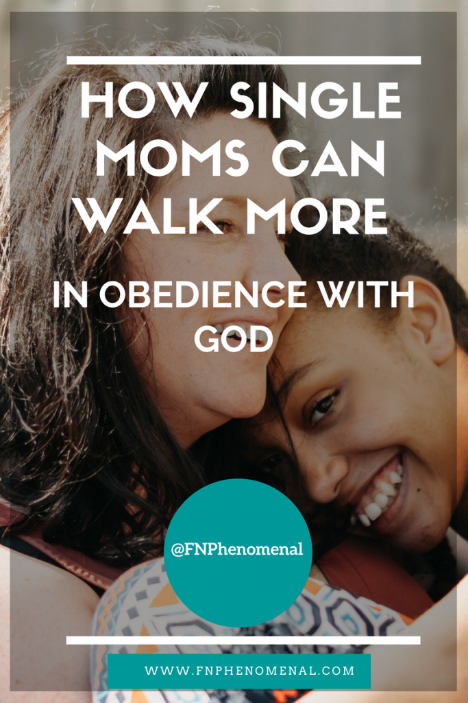 In the Phenomenal Moms podcast, we explore the topic How Single Moms Can Walk More In Obedience With God.