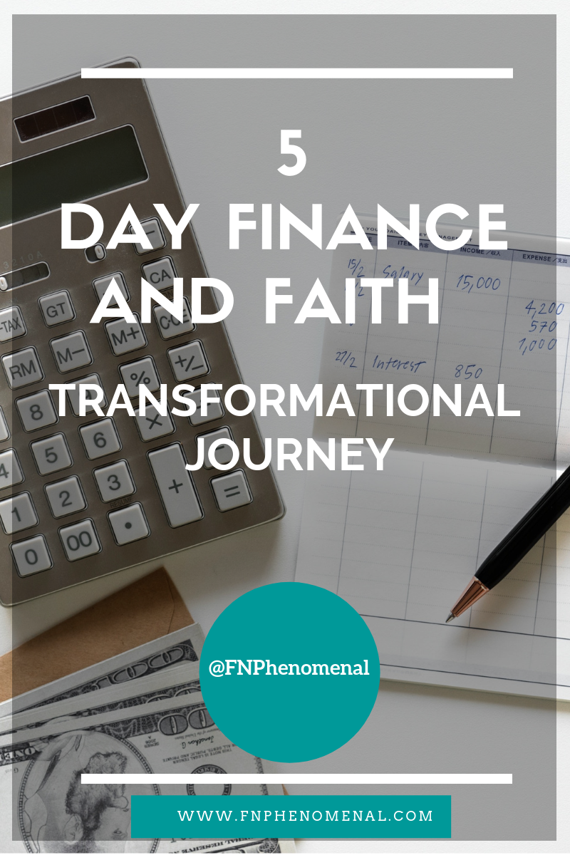 Change your finances and grow your faith in 5 days.