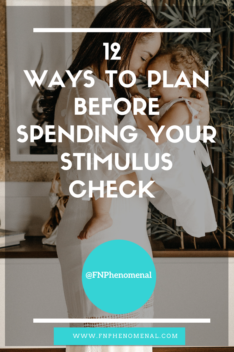 12 Ways To Plan Before Spending Your Stimulus Check